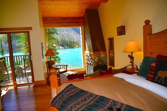 Our Cabin Picture Of Moraine Lake Lodge Lake Louise