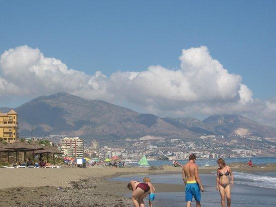 CLC Club La Costa World : Fuengirola from the beach