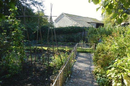 Hill Top, Beatrix Potter's House: Beatrix's vegetable garden