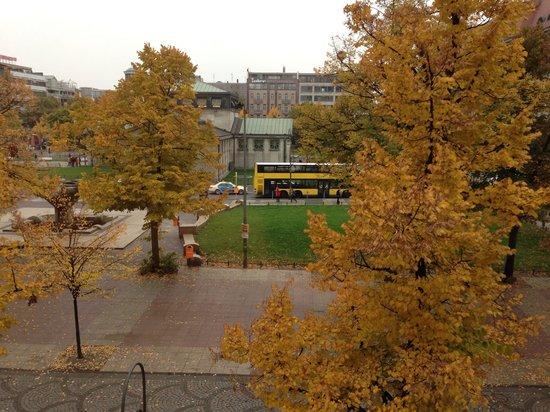 Hotel-Pension Classic: Vista desde la ventana del comedor