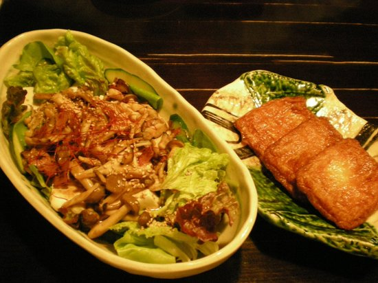 Nakagawa Seiryu: salad n satsuma age