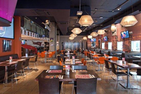 Planet Hollywood Restaurant