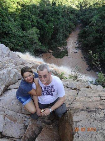 Cachoeira do Tombador - Vista de cima