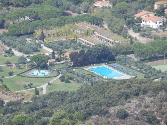 Hotel & Resort Sant'Anna del Volterraio : Vista dal Monte Volterraio