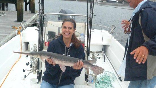 Reel Action Fishing Charters: Gator Gar