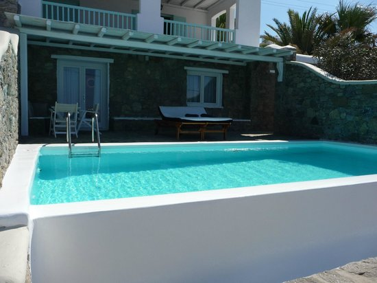 Bill & Coo Suites and Lounge: Room with private pool