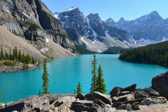 Moraine Lake Lodge: Moraine Lake