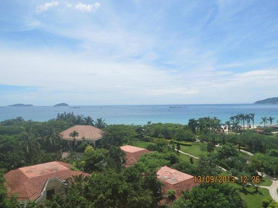 Sanya Marriott Yalong Bay Resort & Spa: View from 7th floor balcony