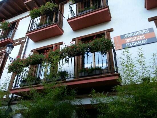 Apartamentos Turisticos Ezcaray: entrada principal