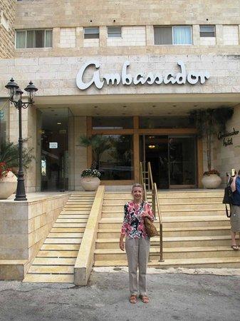 Ambassador Hotel: The Hotel Entrance