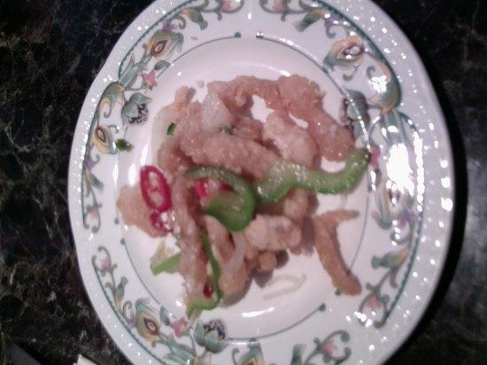 Wokkas: My tastey starer crispy chicken in spicey salt