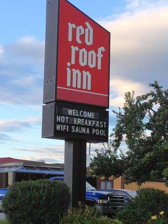 Days Inn Rutland/Killington Area: The Sign   We Were There