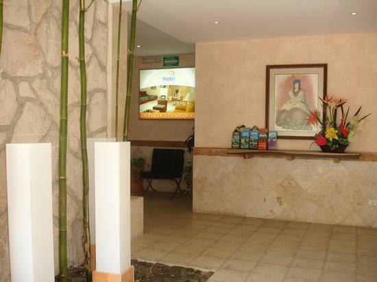 Hotel & Suites Nader: Nuestra Recepción