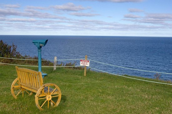 Rusty Anchor Restaurant: Outdoor Scenic View