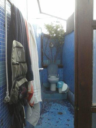Casa Caracol: Outdoor shower