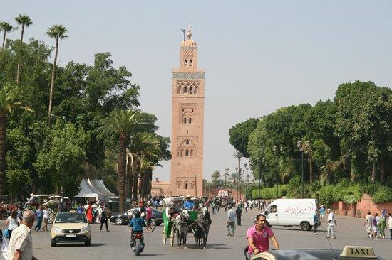 Riad Itrane : Koutoubia Place Jamma El Fna