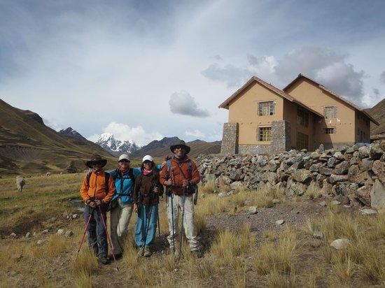 Camino del Ausangate - Andeanlodges: Albergue de Chillca, el primer dia...