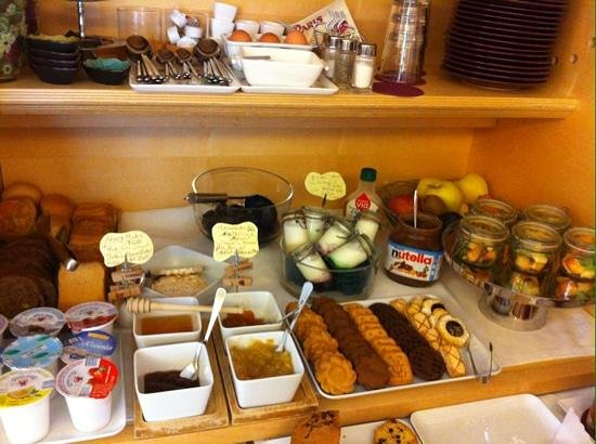The Open Buffet Breakfast Picture Of Hotel Suite Inn
