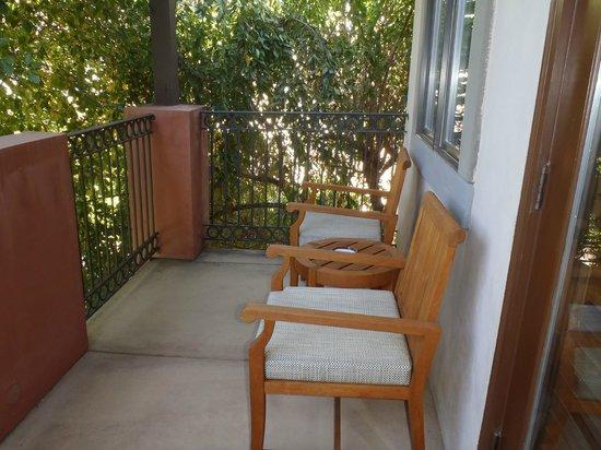 Villagio Inn and Spa: Private patio