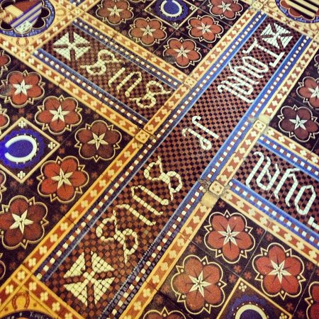 Ettington Park Hotel: Floor title detail
