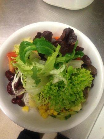 San Antonio: gemischter Salat