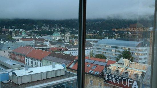 Adlers Hotel: Aussicht aus dem Zimmer