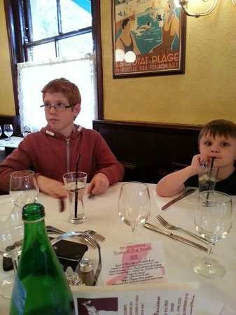 La Parisienne: My grandsons  were made very welcome !