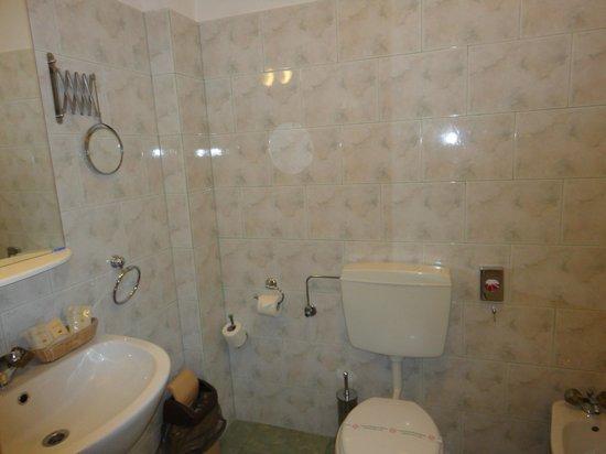 Hotel Giuseppe: Ванная