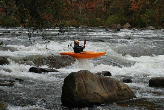 Cherokee National Forest Middle Ocoee River Fun