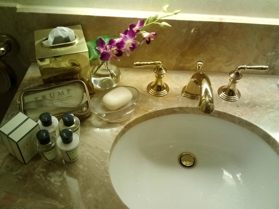 Bathroom Sinks Nyc bathroom - picture of trump international hotel and tower new york