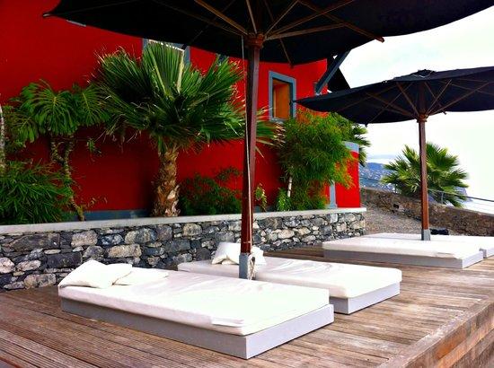 Hotel da Vila: Zona de relaxe