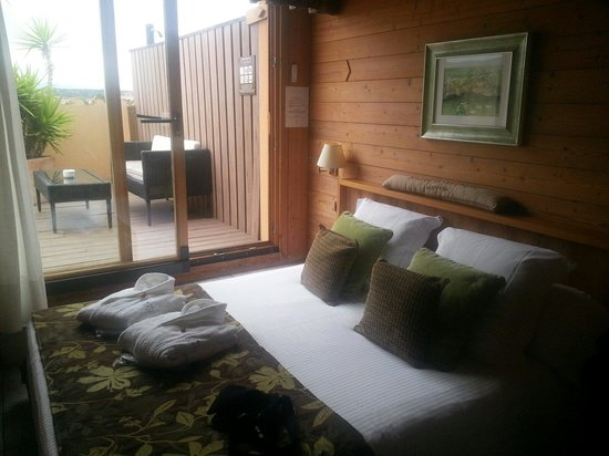 Hotel Restaurant La Placa: La habitación!
