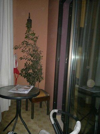 Amani Hôtel Appart: balcon