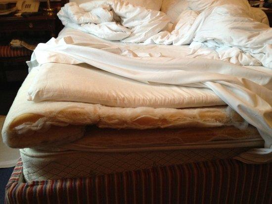 Hotel Sacher Salzburg: Solution to hard mattress
