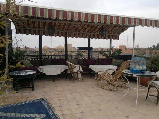 Amani Hôtel Appart: terrasse du toît