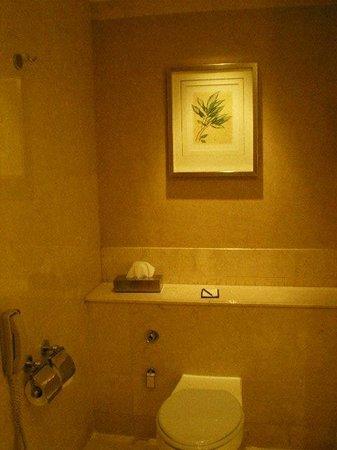 Makati Shangri-La Manila: Bathroom Toilet