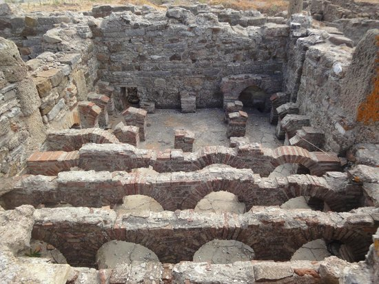 Conjunto Arqueológico Baelo Claudia: Termas