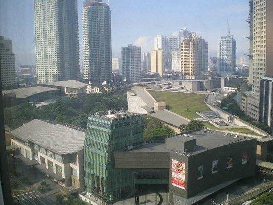 Makati Shangri-La Manila: Greenbelt view
