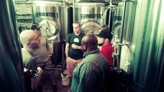 Chattanooga Brew Tours: Touring the Terminal