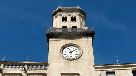 Alicante Town Hall: Clock Tower