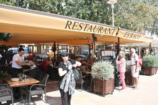 Es Raco des Port: Zicht op restaurant