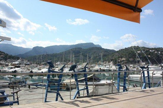 Es Raco des Port: Zicht op haventje