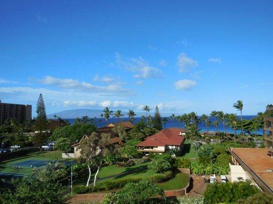 Aston Maui Kaanapali Villas: view from the lanai