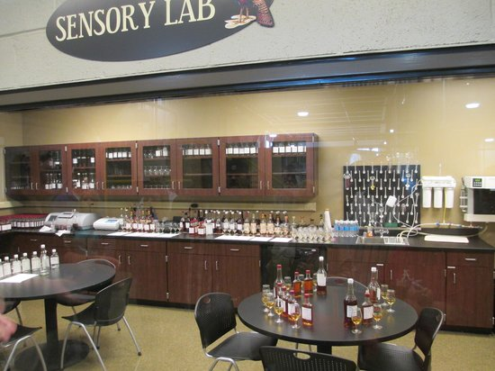 Wild Turkey Distillery : Quality Control Tasting Room