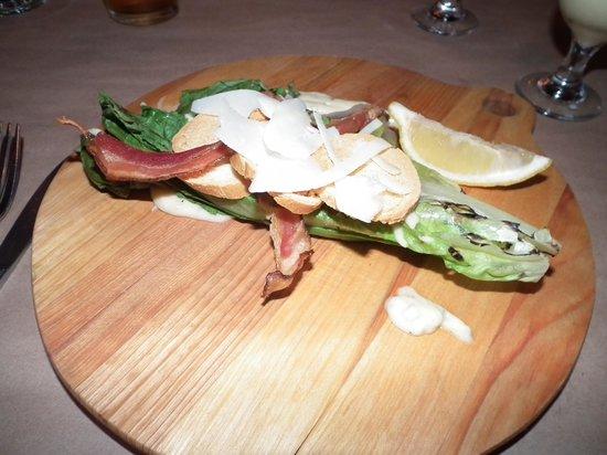 Restaurant Amérika: La salade César grillée