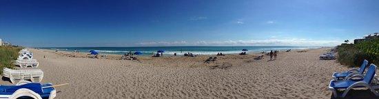 Marriott Beach Resort and Marina Hutchinson Island : Beach