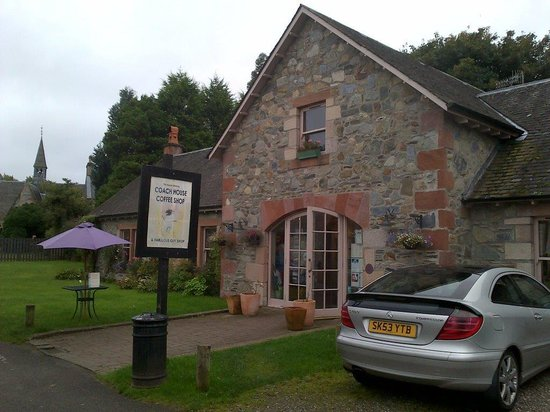 Coach House Coffee Shop Luss Scotland