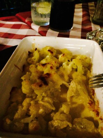 Pizza Casa Mia : Cauliflower with cheese