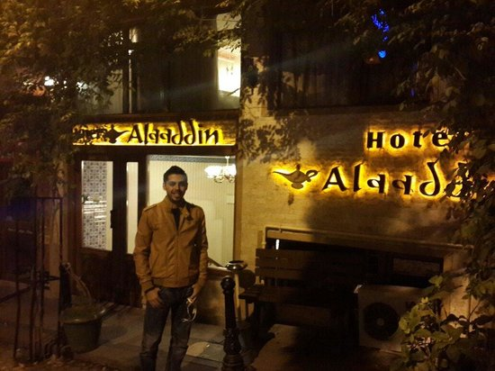 Aldem Hotel : Alaaddin main entrance