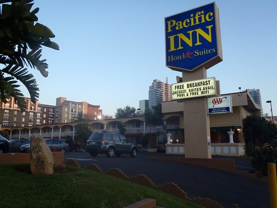 Pacific Inn Hotel & Suites: The Pacific Inn San Diego